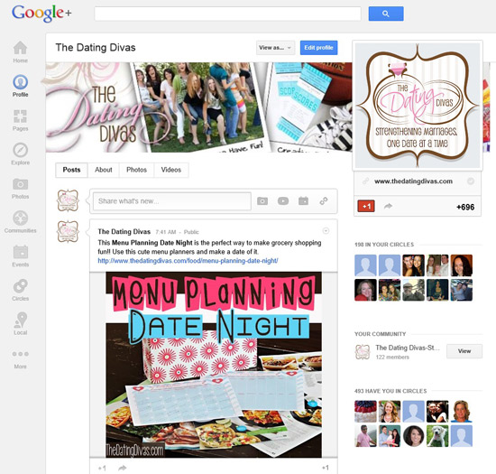 Julie-Google-Plus-Diva-Homepage