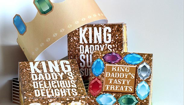 King For A Day Father's Day Kit