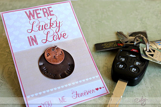Julie-Lucky-In-Love-Keychain-WebLogo