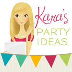 Kara's Party Ideas Logo
