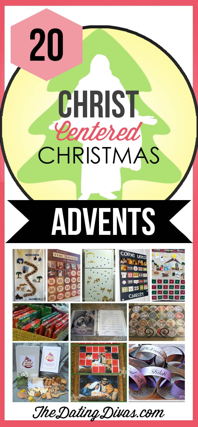 Keep Christ in Christmas with a Christ-Centered Advent Calendar- love these!