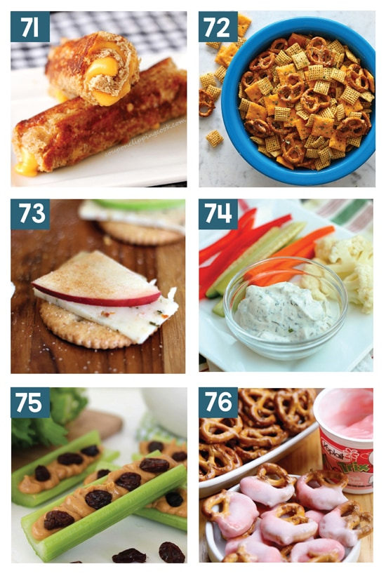 Kid-Approved After School Snacks