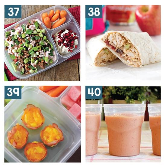 Kid Approved Healthy School Lunch Ideas