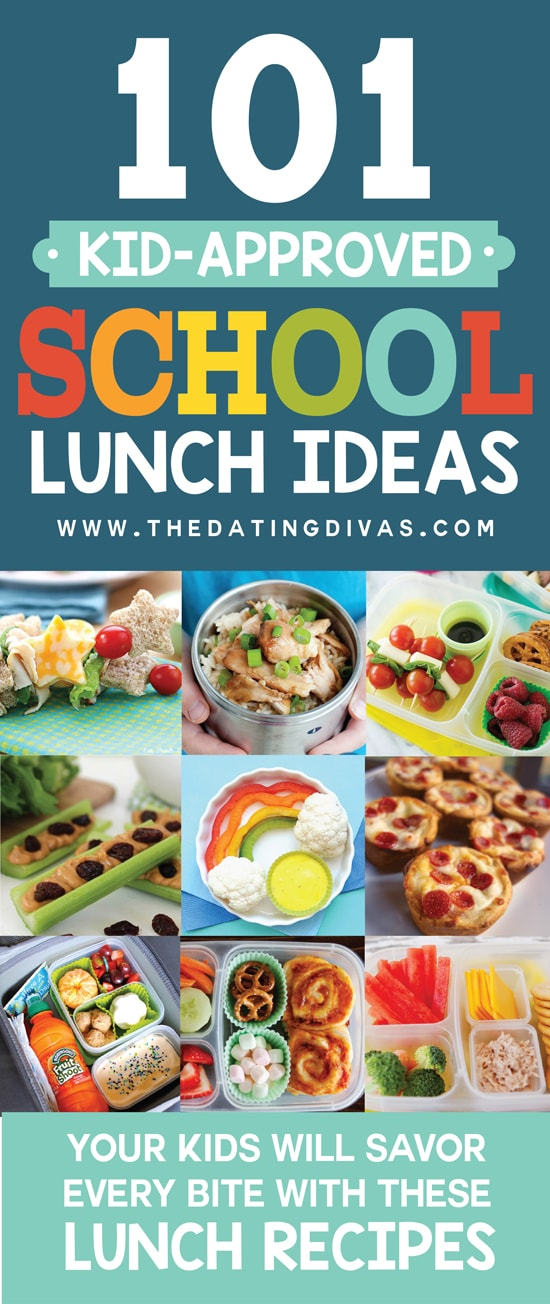 101 Kid Approved School Lunch Ideas #LunchIdeasforKids