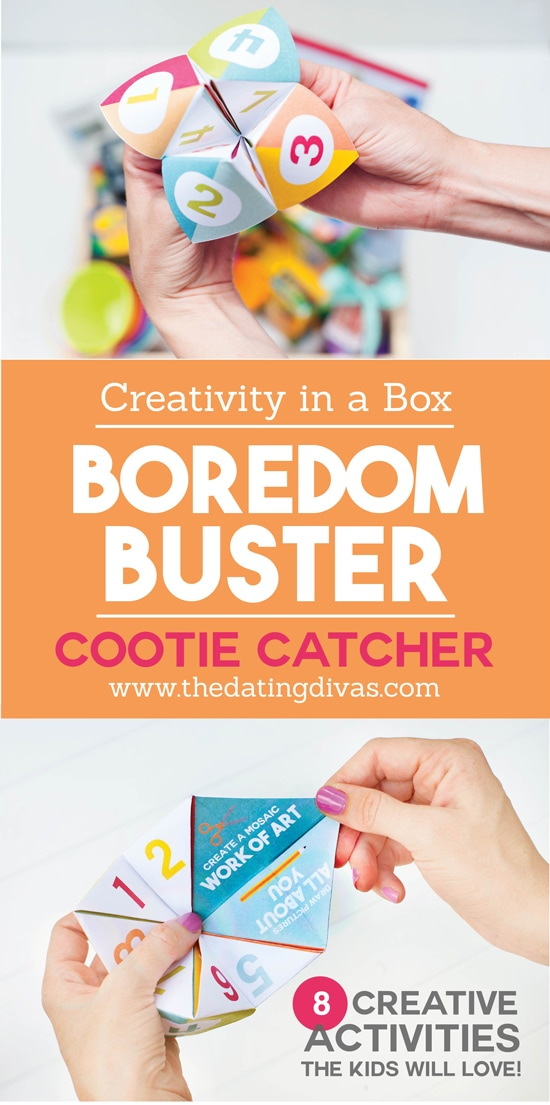 Creative Activities In A Box Boredom Buster From The Dating Divas