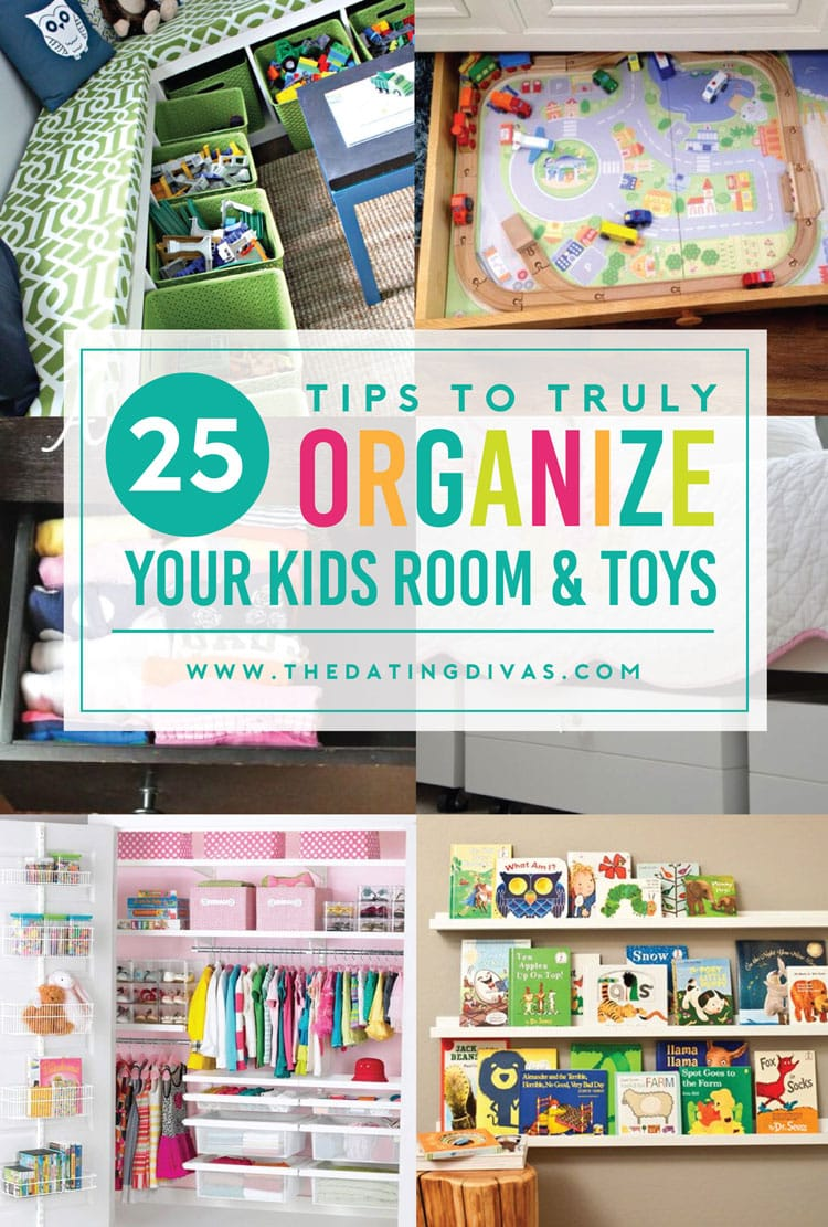 Top tips for organizing your kids rooms!