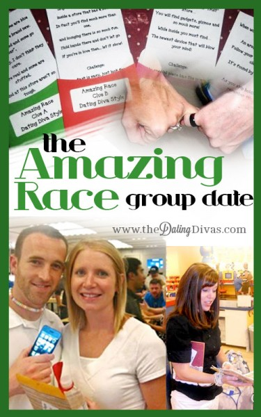 The amazing race date ideas game show dates group theme date the
