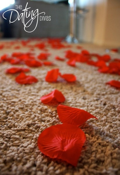 Trail of Rose Petals for Romance