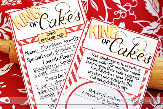 Cake Decorating Date Night Free Printables