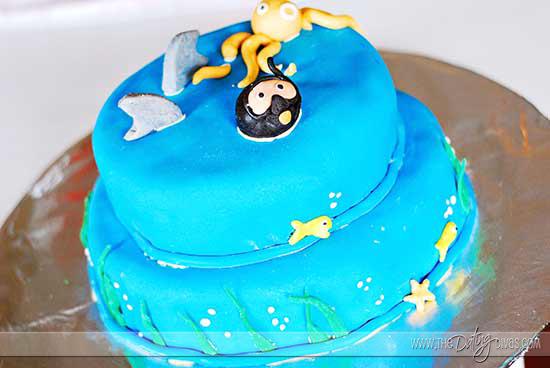 Cake Decorating Date Night Cake