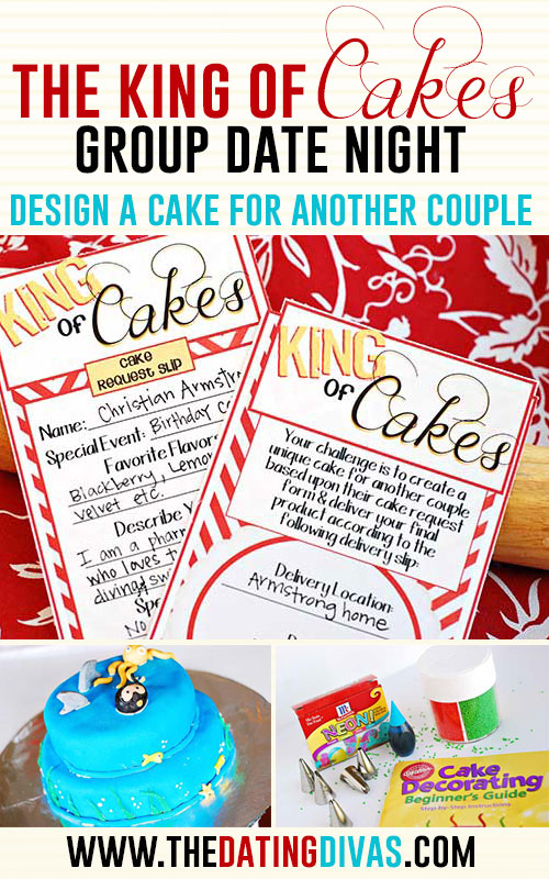 King of Cakes Date Night Idea