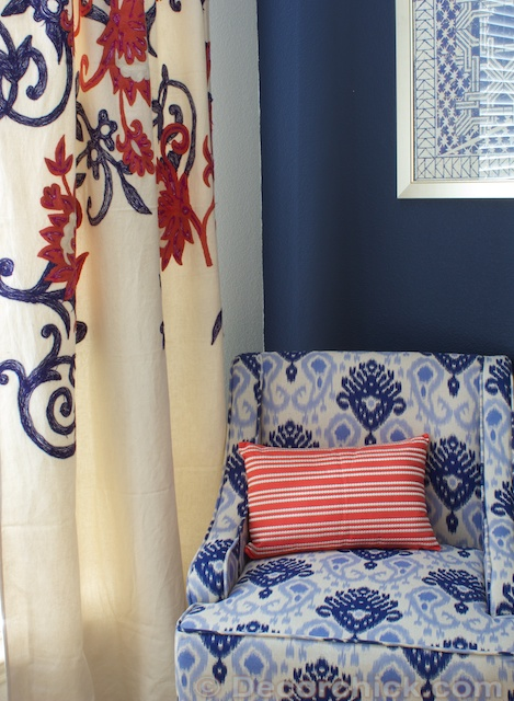 Gorgeous Navy Coral Master Bedroom With Diy Decor