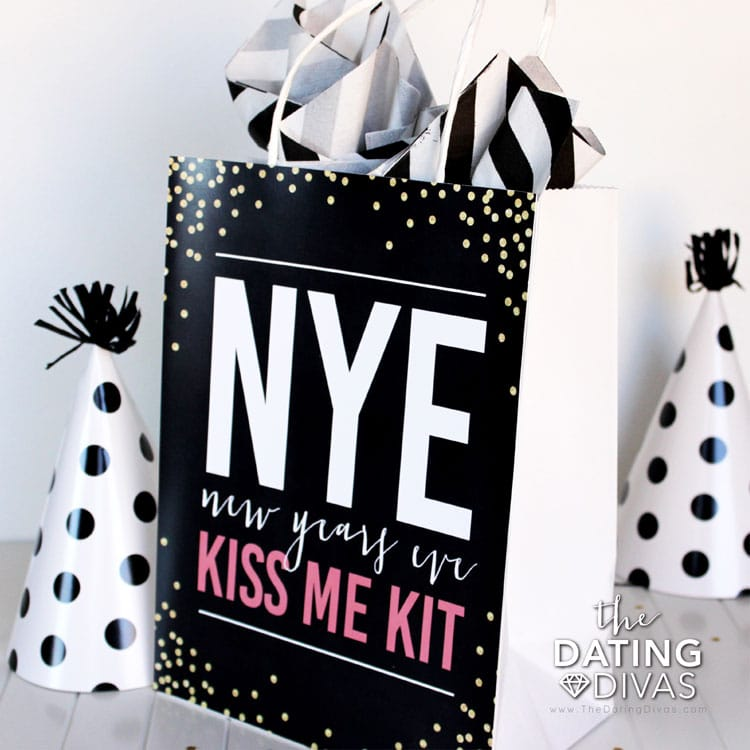Kiss Me! Idea for New Year's Eve