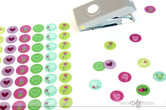 Kiss Your Mate Day Stickers