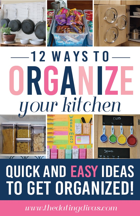 12 Ways to Organize your Kitchen