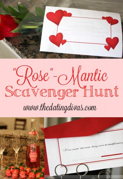 ROSE Mantic Scavenger Hunt The Dating Divas