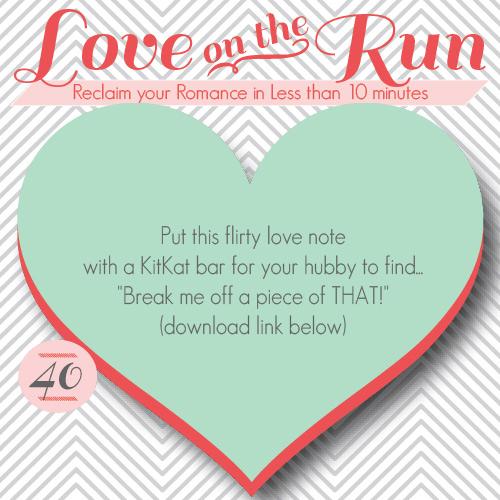 KitKat love note