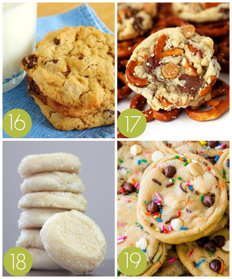 Last Minute Cookie Recipes for an Exchange Party