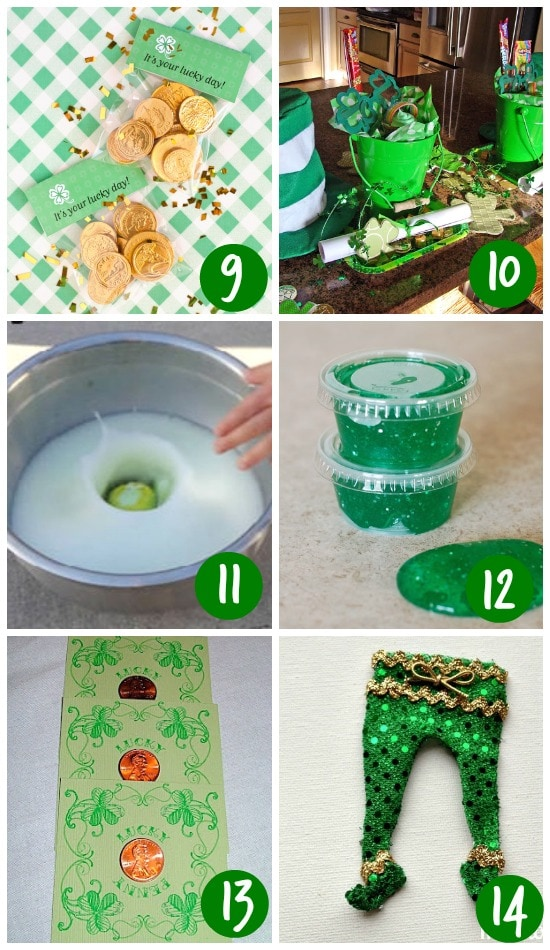 Creative Leprechaun Gifts and Treats