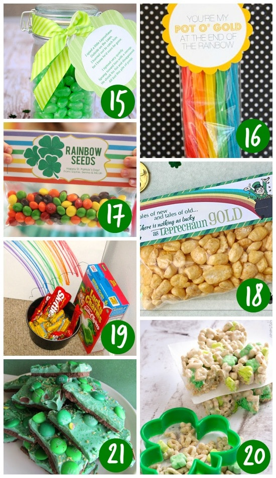Leprechaun Treats and Goodies