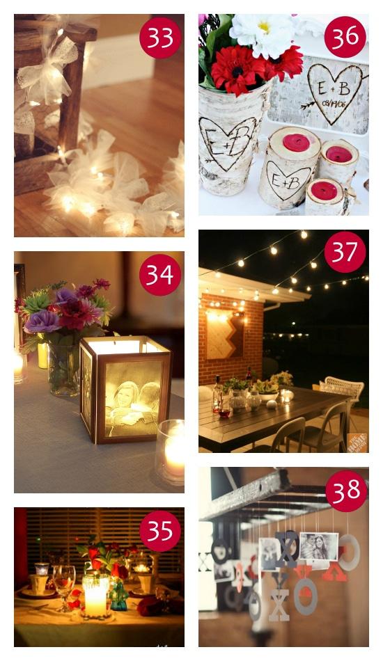 Unique lighting and Decor Ideas for Valentine's
