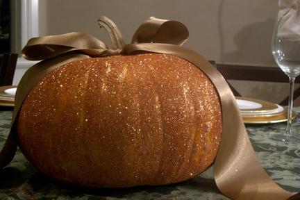 Lisa P Glitter Pumpkin