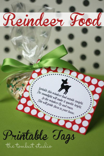 photo relating to Printable Reindeer Food Tags identified as Reindeer Foods Tags