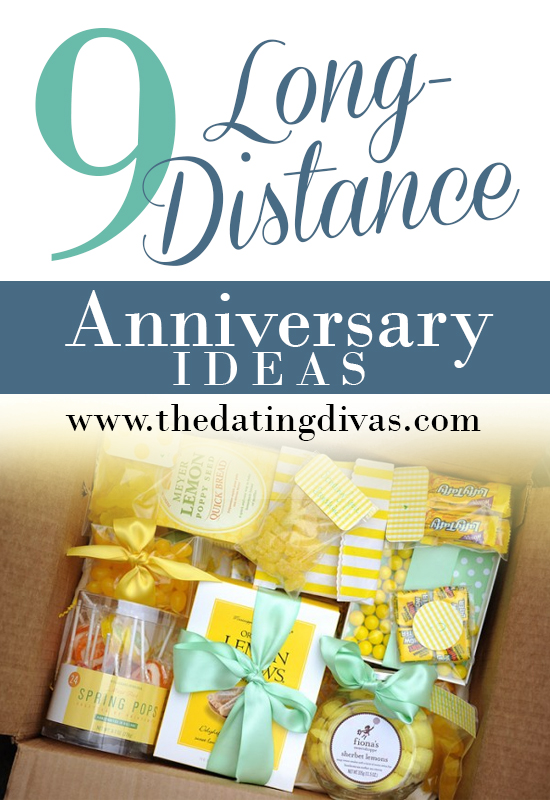 Anniversary week long distance ideas