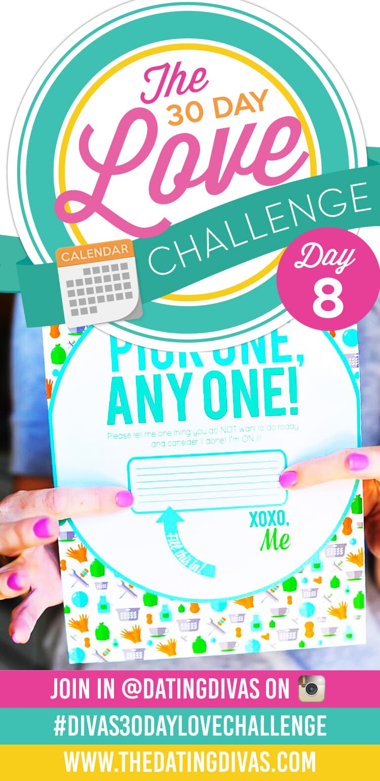 Divas 30 Day Love Challenge Chore Coupon
