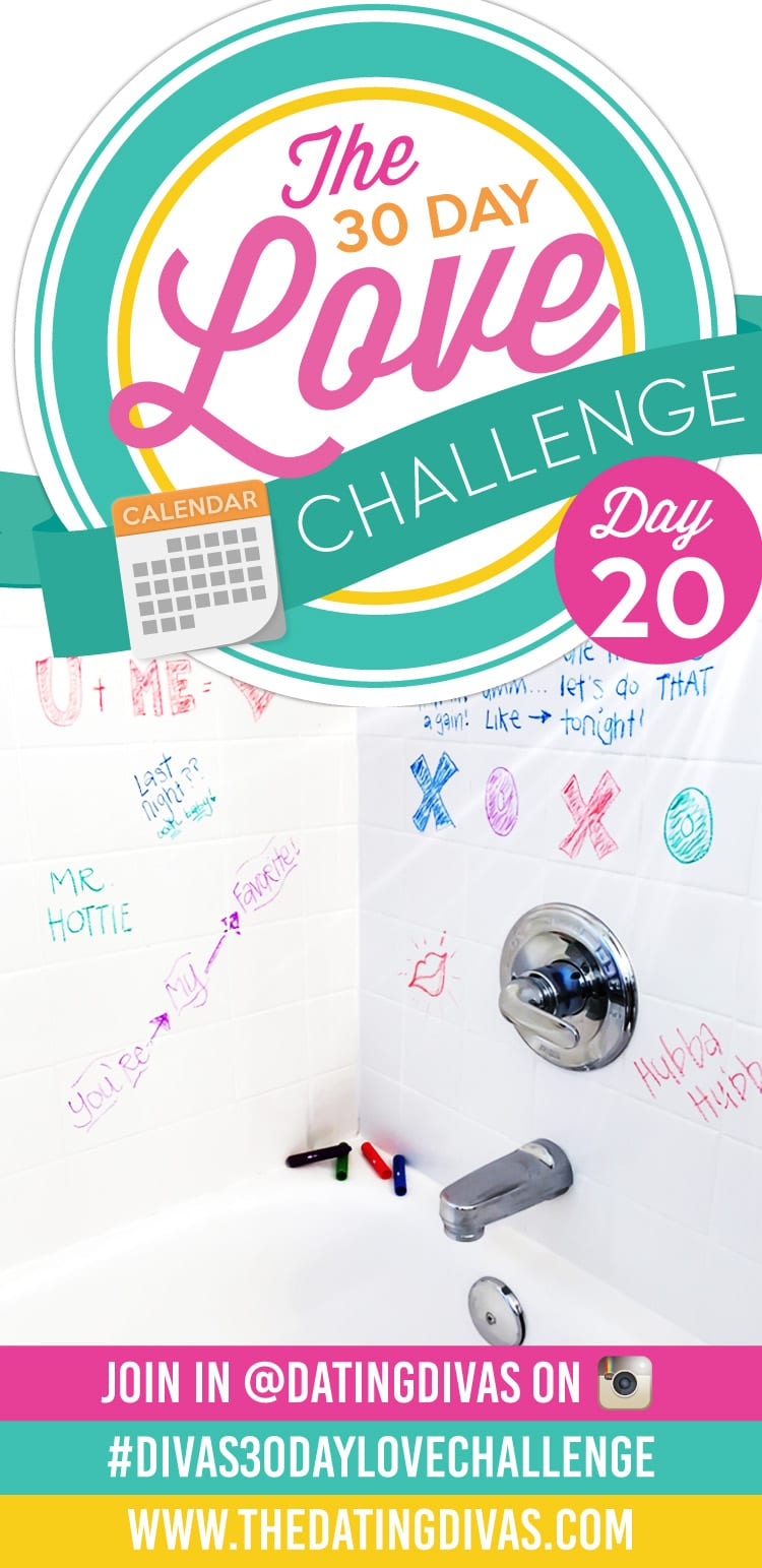 30 Day Love Challenge Shower Notes