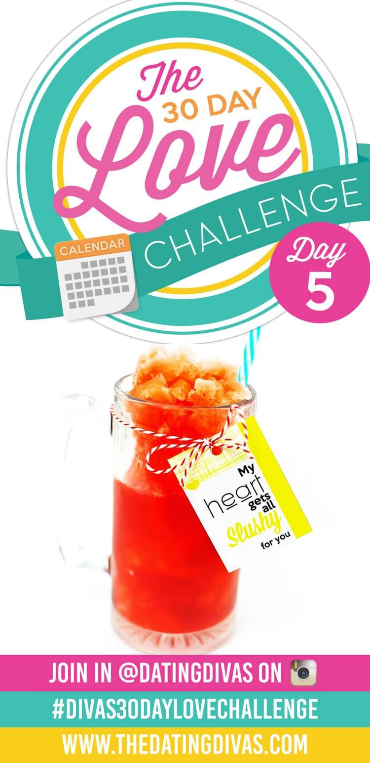 Divas 30 Day Love Challenge- Drink Love Note