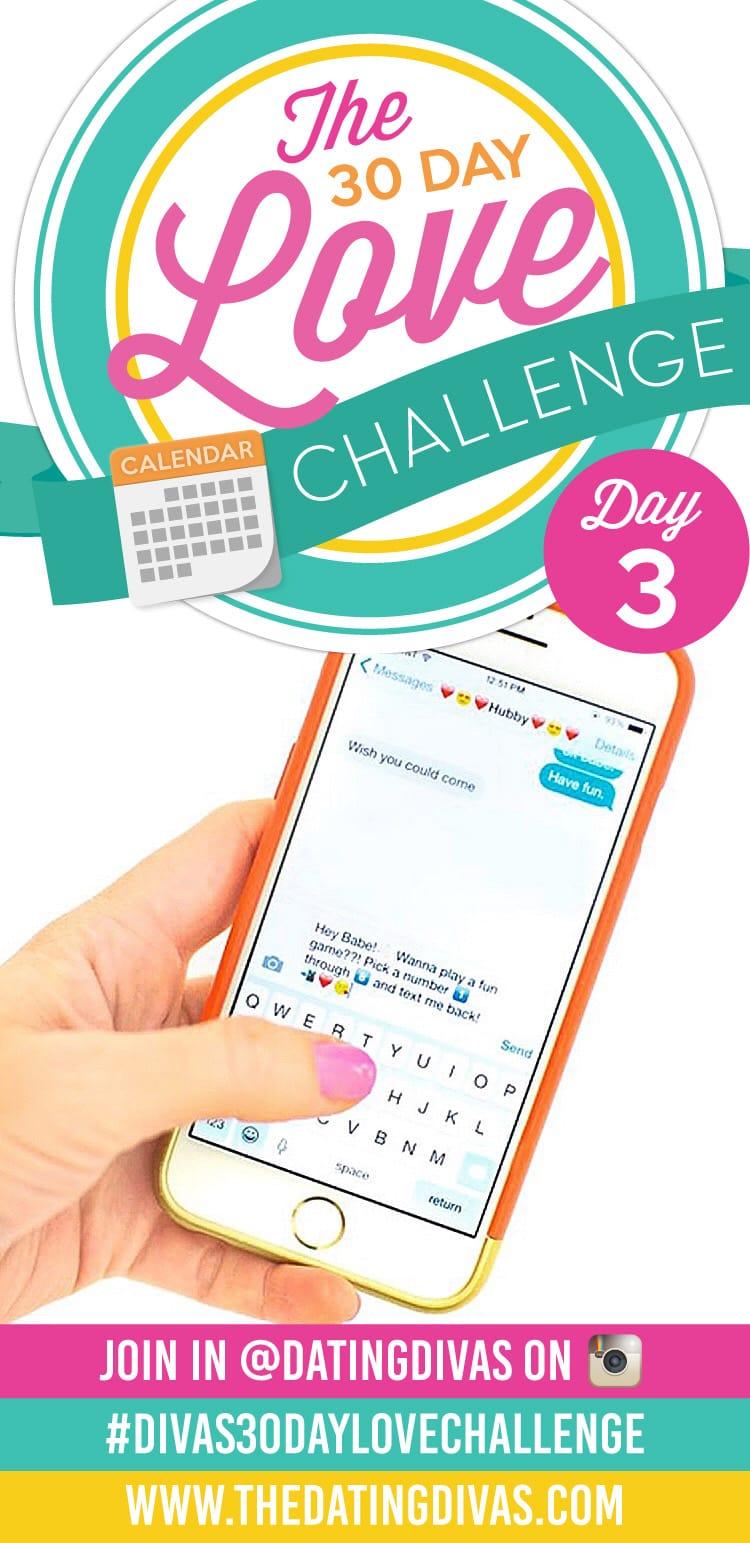 Divas 30 Day Love Challenge Text Messages