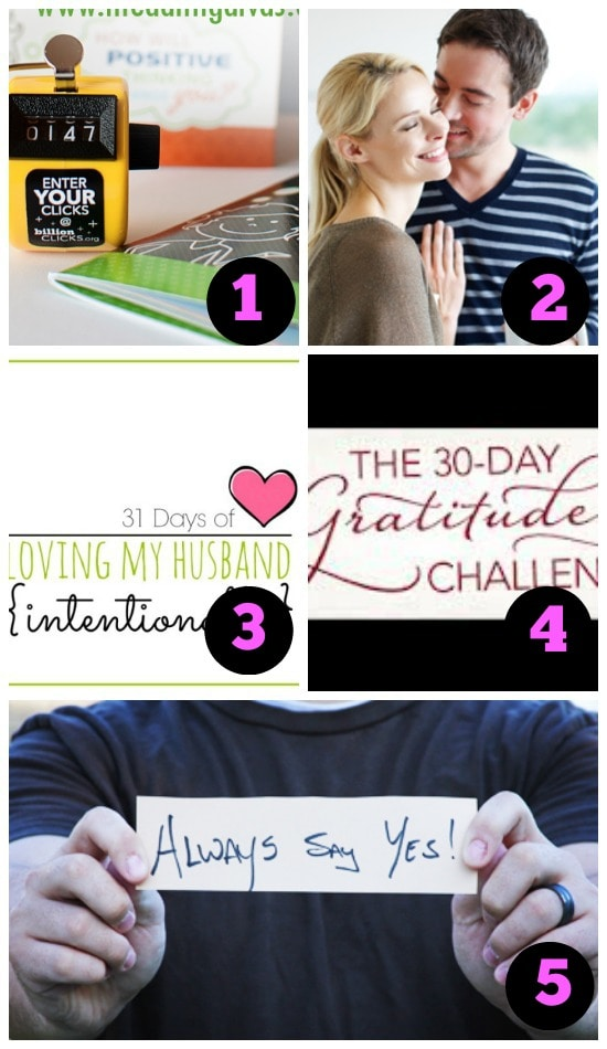 Love Challenges That Will Transform Your Attitude About Your Spouse