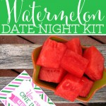 Watermelon Date Night + Free Printables