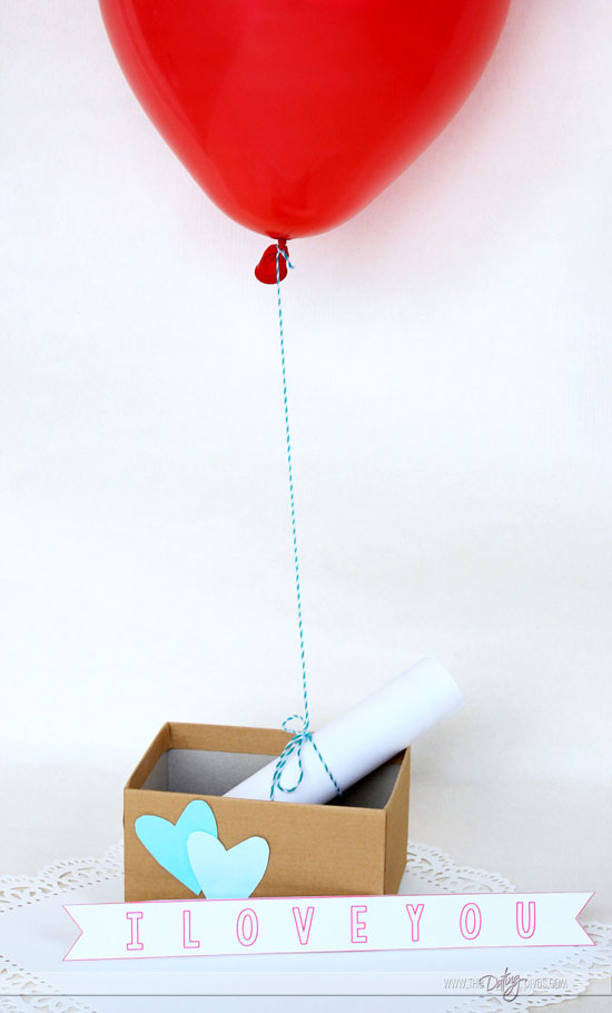 Love Letter Balloon Note