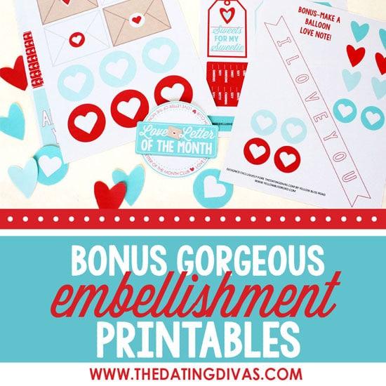 Love Letter Embellishments