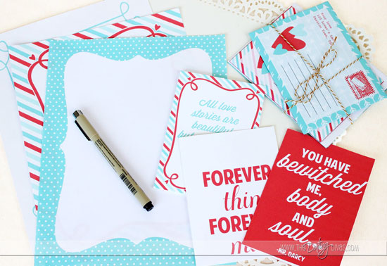 Love Letter Stationary