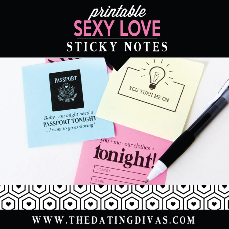 Love Sticky Notes Sexy