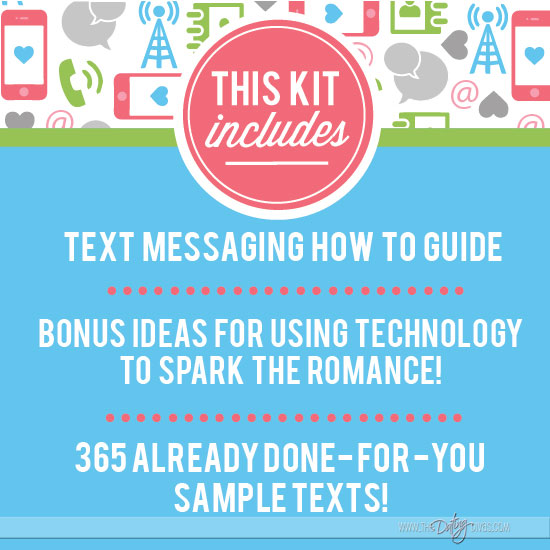 Love Text Message Pack Includes