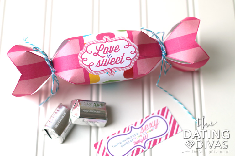 Love is Sweet Bedroom Game invitation