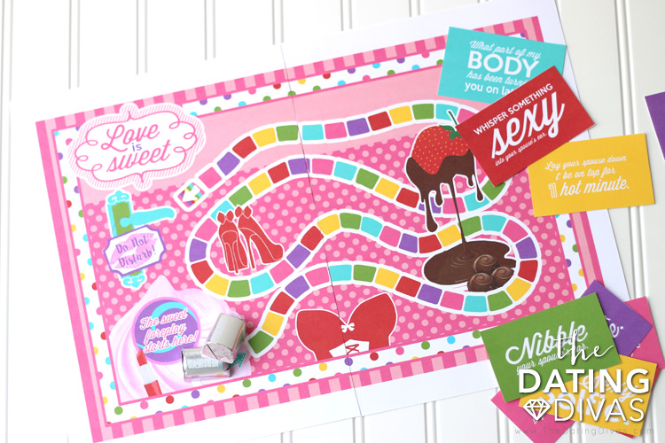 Love is Sweet Intimate Board Game