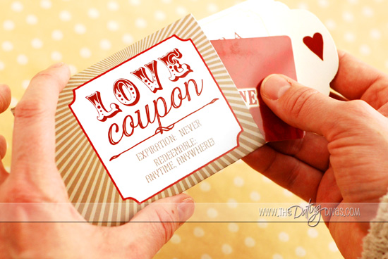 Love Coupon Book Gift Idea