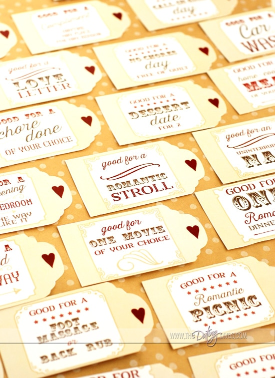 Diy love coupons for Coupon book template for boyfriend