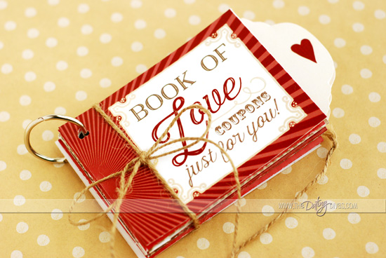 Love Coupon Book Gift