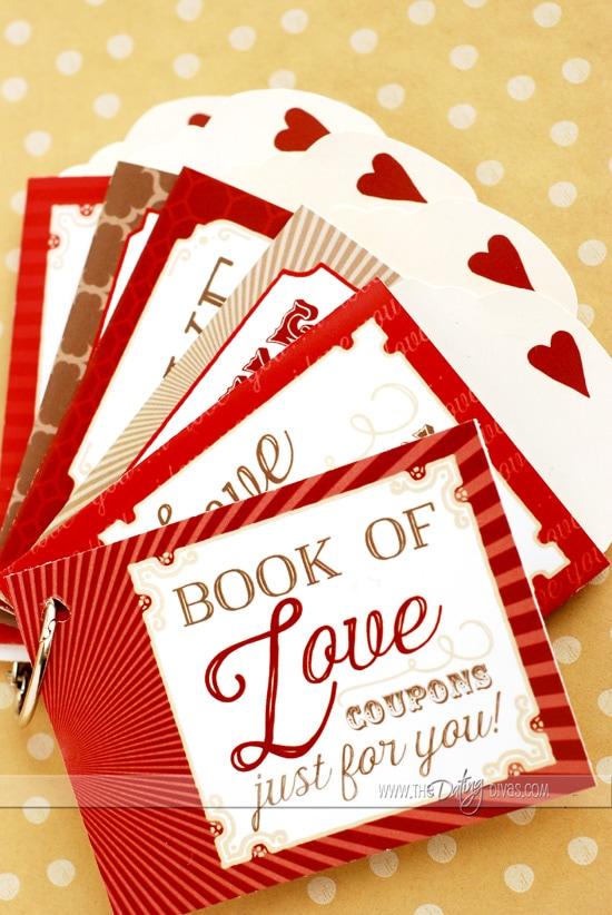 Love Coupon Book Gift Idea