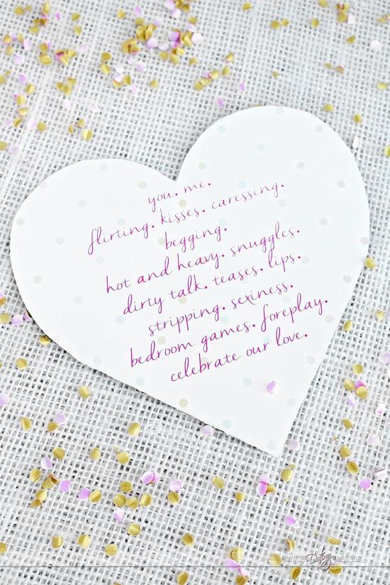 Lover's Day Invite