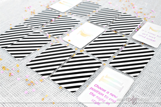 Lover's Day Matching Card Printable Game