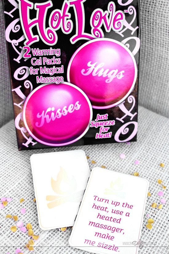 Lover's Day Warm Massage Matching Cards