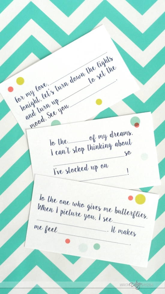Lunchbox Love Letters Intimate