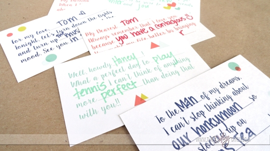 Lunchbox Love Letters – Love Letters